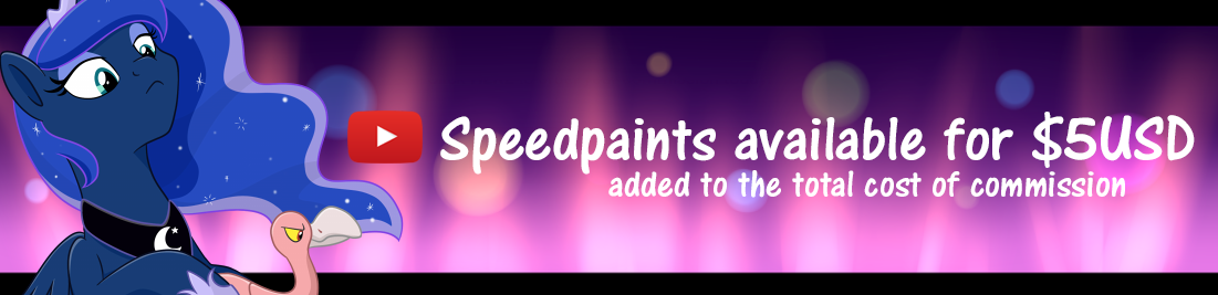 Speedpaints available for $5 USD